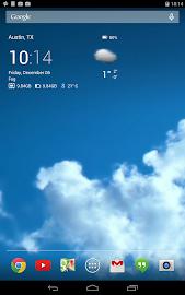 Transparent clock & weather Screenshot 22