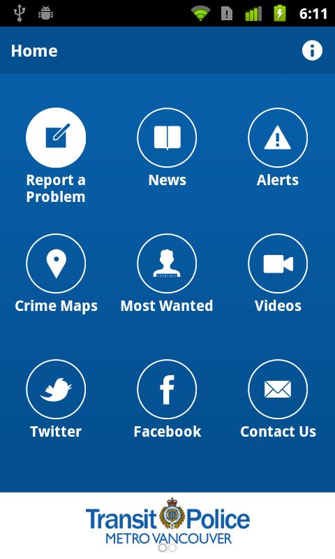 Metro Vancouver Transit Police - screenshot