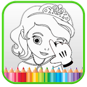 Princess Coloring, Easy Kids