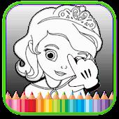 Princesa pintura a dedo