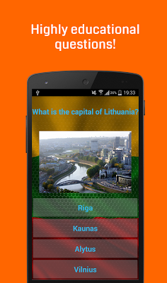 Lithuania Quiz - screenshot