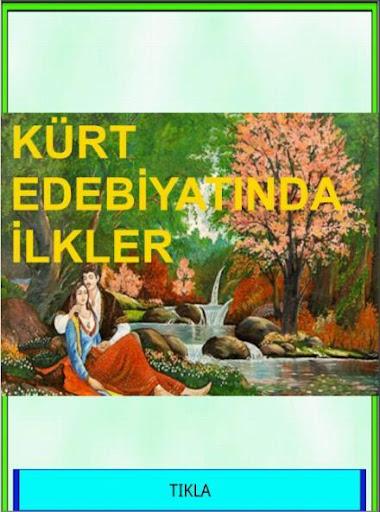 Kürt Edebiyatında İlkler