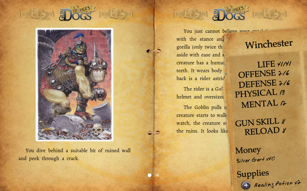Gary Chalk's Gun Dogs - screenshot