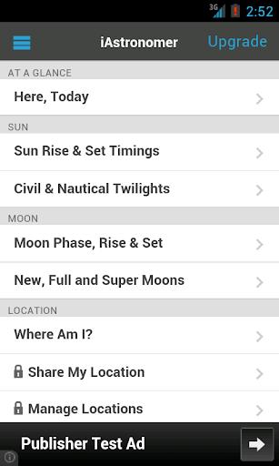 iAstronomer Free - Sun Moon