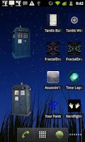Screenshot of Tardis Widget
