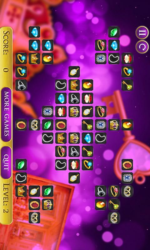 Jewels Connect Mahjong - screenshot