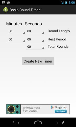 Basic Round Timer