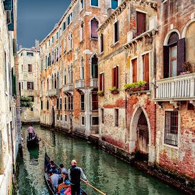 Gondola by Pascal Hubert - City,  Street & Park  Historic Districts