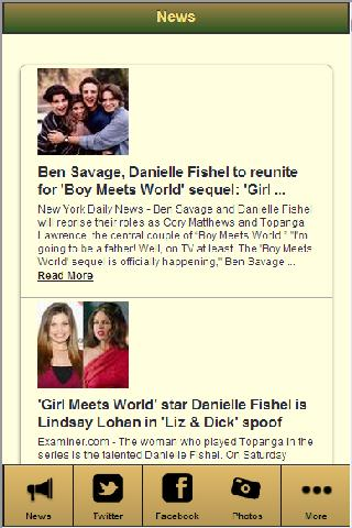 Danielle Fishel - screenshot