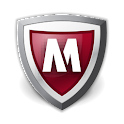 McAfee Security (Vodafone & 3) logo