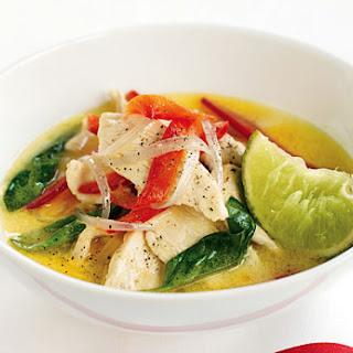 Thai Green Chicken Curry.