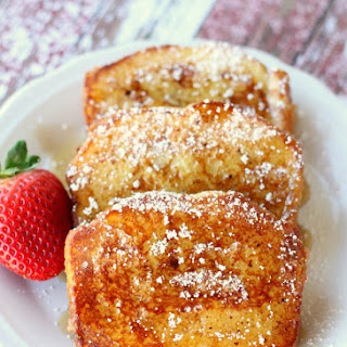 Pound Cake French Toast.