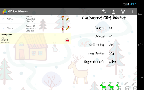 Christmas Gift List - screenshot thumbnail