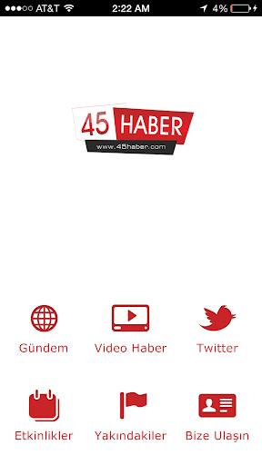 45 Haber App