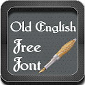 Old English Font Style icon