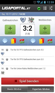 Ligaportal Fußball Live-Ticker - screenshot thumbnail