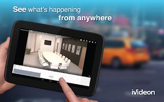 Screenshot of Video Surveillance Ivideon
