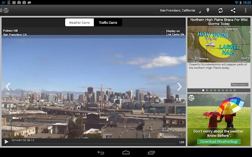 WeatherBug - Forecast & Radar Screenshot 31