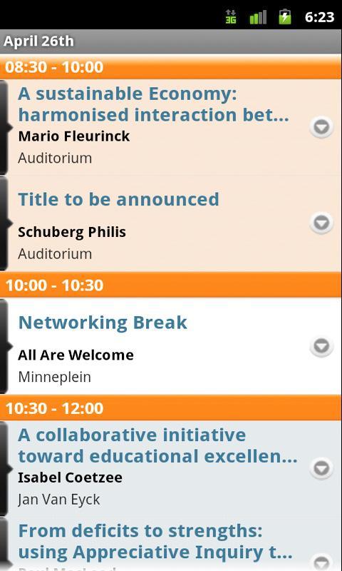 2012 World AI Conference- screenshot