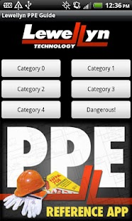 Lewellyn PPE Reference App - screenshot thumbnail