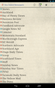 New Zealand Newspapers- screenshot thumbnail