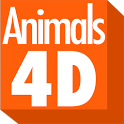 Animals 4D icon