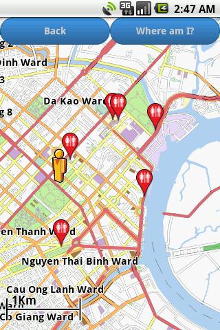 Vietnam Amenities Map