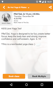 Be Hot Yoga- screenshot thumbnail