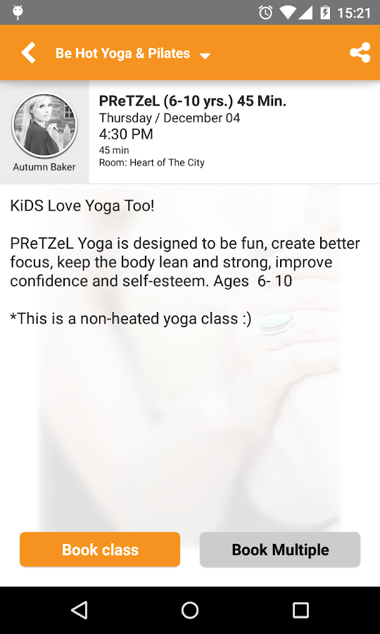 Be Hot Yoga- screenshot