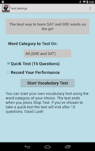 Vocab Builder: SAT-GRE (Lite)- screenshot thumbnail