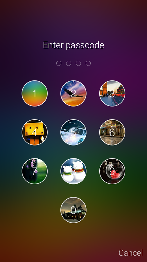 Keypad Locker Pro Screenshot