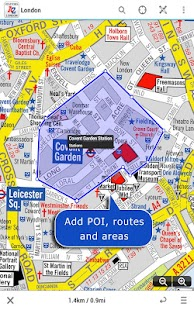 London Visitors A-Z Map - screenshot thumbnail