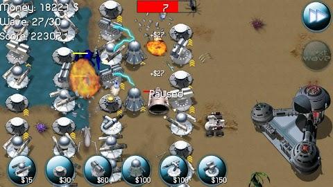 Nexus Defense (Tower game) Screenshot 1
