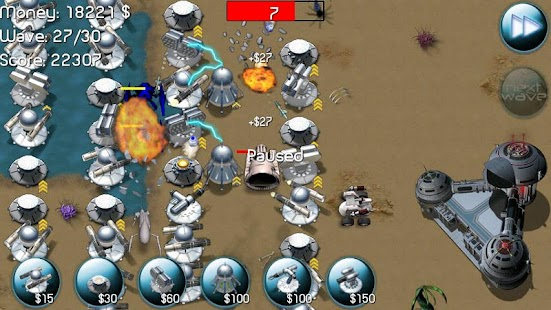 Nexus Defense (Tower game) Screenshot 1