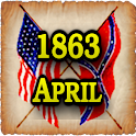 1863 Apr Am Civil War Gazette icon