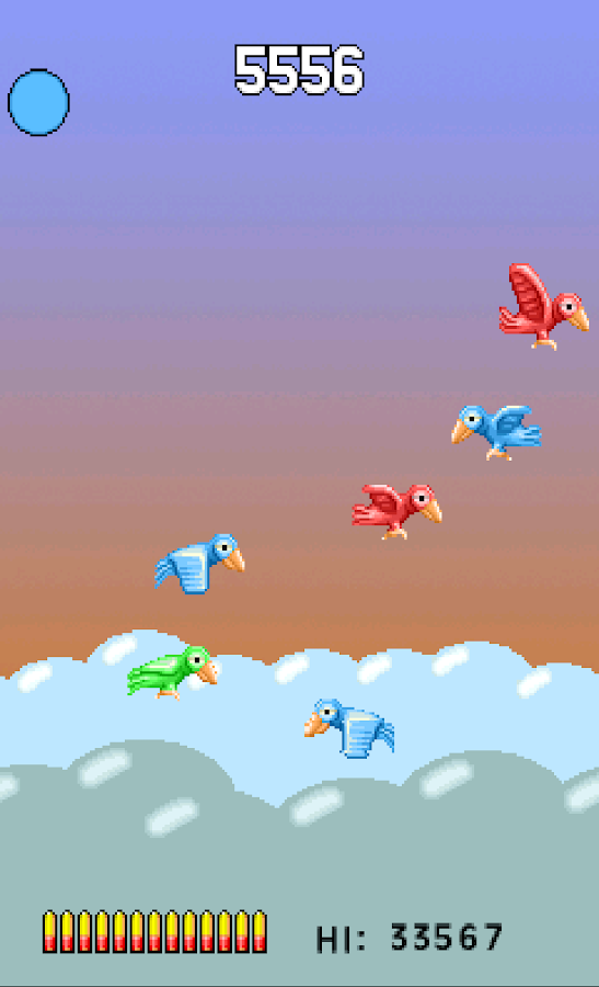 Bored Birds - epic shooter- screenshot