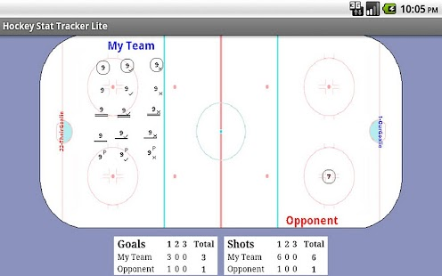 Hockey Stat Tracker- screenshot thumbnail