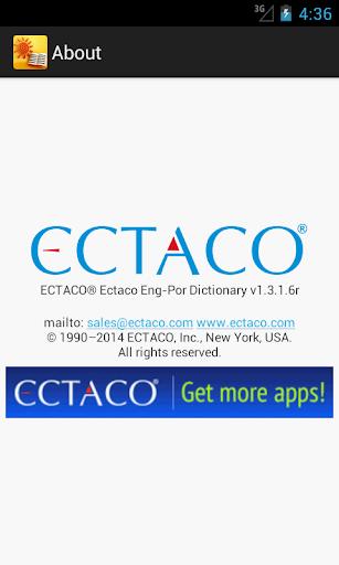 玩免費教育APP|下載English-Portuguese Dictionary app不用錢|硬是要APP