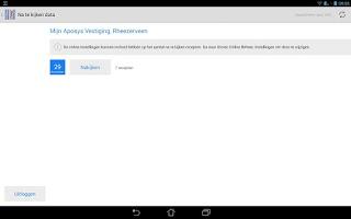 Screenshot of Storec Mobiel