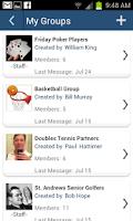 Screenshot of Clubster
