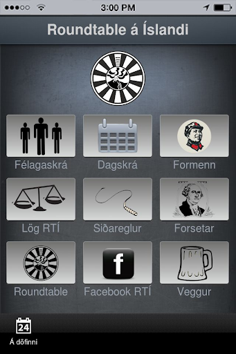 Roundtable Iceland