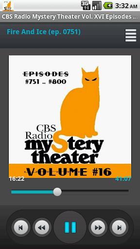 CBS Radio Mystery Theater V.16