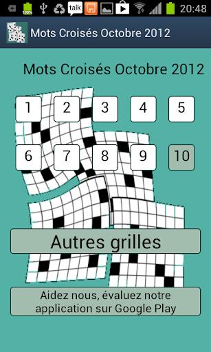 【免費解謎App】Mots Croisés Faciles 10-APP點子