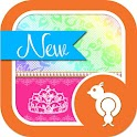 Princess Rainbow Lace Theme icon