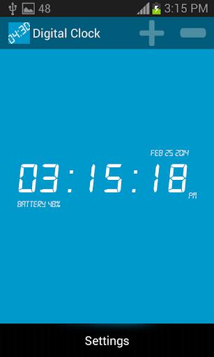 download digital clock for pc
