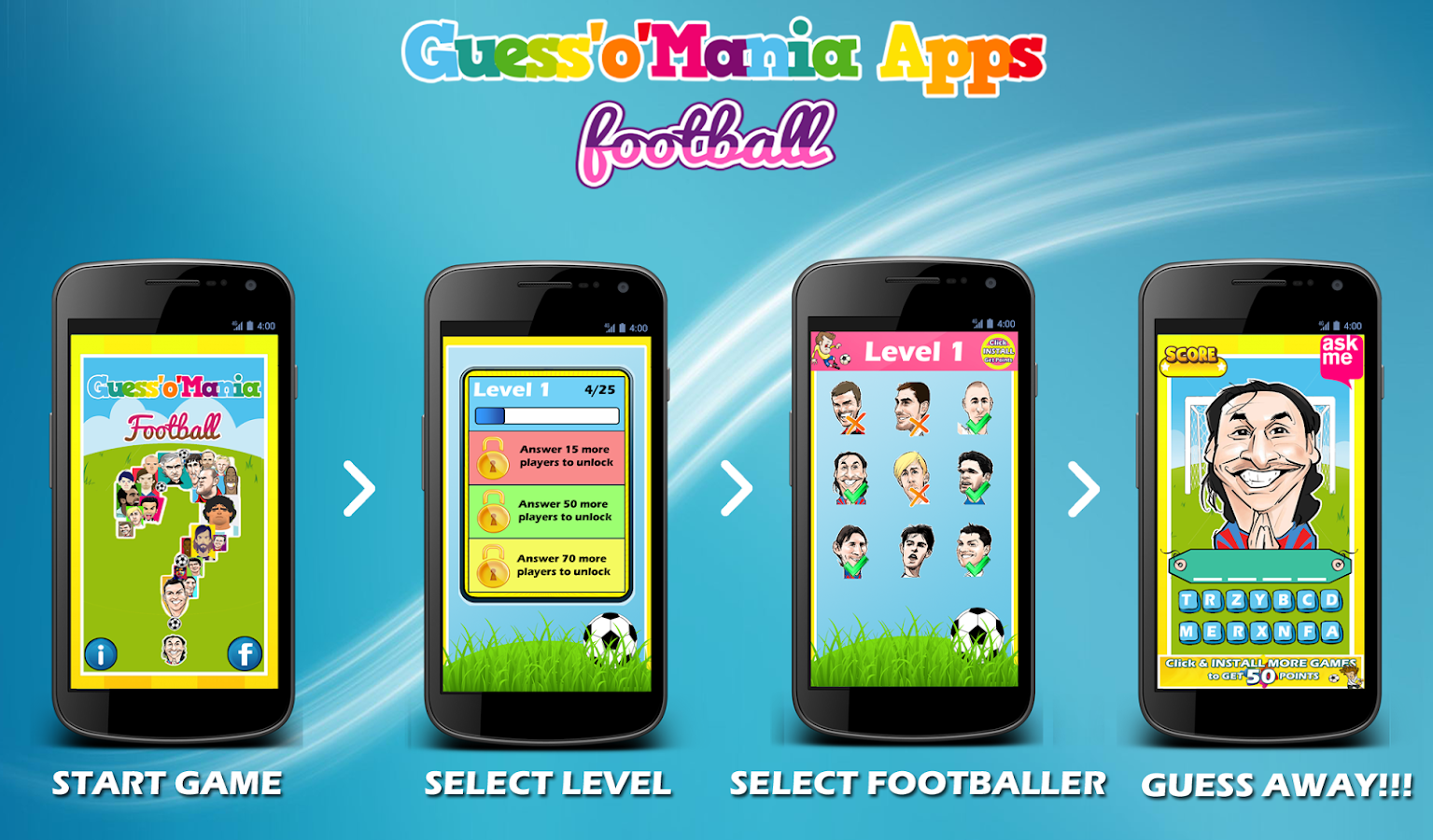 Football Player Quiz - screenshot