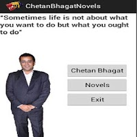 Screenshot of Chetan Bhagat Novels
