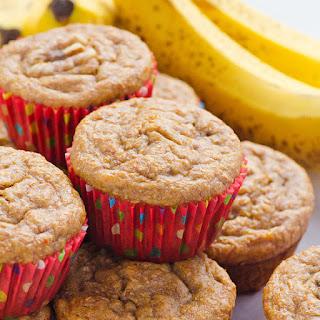 Clean Eating Banana Muffins.