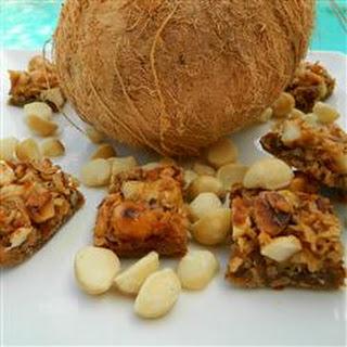 Hawaiian Macadamia-Coconut Squares