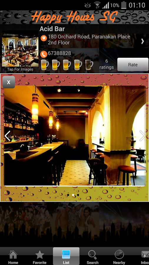 Happy Hours Singapore- screenshot